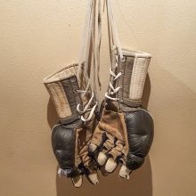 Original Kung Fu gloves from Amir Academy of Martial Arts