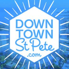DowntownStPete.com Business Card Front